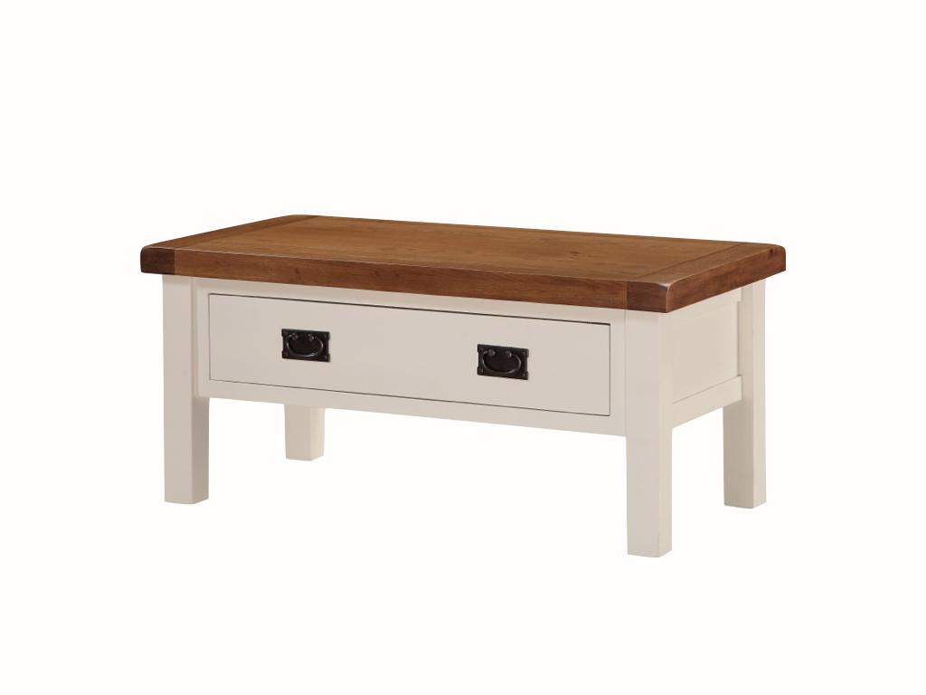 Heritage Small Coffee Table With Draw